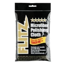 "MC 200 by FLITZ - Microfiber Polishing Cloth 16"" x 16"" Grey - Single"