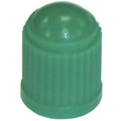 TI117 by THE MAIN RESOURCE - Green Plastic Tire Cap With Seal (100 Per Box)