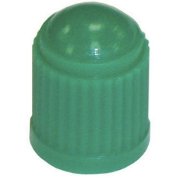TI106 by THE MAIN RESOURCE - Green Plastic Tire Cap - No Seal