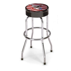 "STUSA-1 by LARIN CORPORATION - USA Eagle Shop Stool, 30"" High"