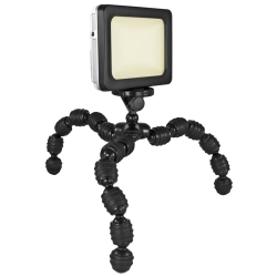 R518F2 by KEYSTONE SCENT COMPANY - LED 1500 Lumen Area Light with Flex Tripod