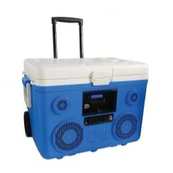 CA-E065A by PREFERRED TOOL & EQUIPMENT/KTI - KoolMax Bluetooth Cooler Audio - Blue