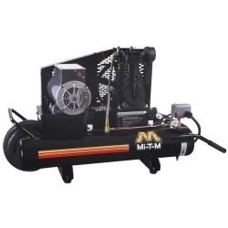 AM1-PE15-08M by MI-T-M - Single Stage compressor - Electric Belt Drive 8 Gallon