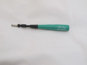 "300-08034 by NUDI - Male .110"" Green Probe"