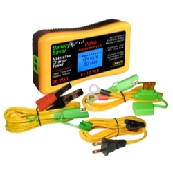 3015-LCD by GRANITE DIGITAL - BATTERY SAVER / MAINTAINER TESTER 6/12V 25W