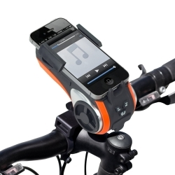 ZTB-F01 by PREFERRED TOOL & EQUIPMENT/KTI - Zoom Tube Bicycle Bluetooth Speaker and MP3 Player