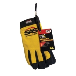 6634 by SAS SAFETY CORP - XL YELLOW PRO TOOL SAFETY GLOVES