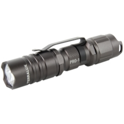 TLF-PRO1-GRY by TERRALUX, INC - PRO-1 Stealth Grey 150 Lumen Flashlight