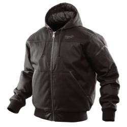 252B-S by MILWAUKEE - Milwaukee Hooded Jacket - Black