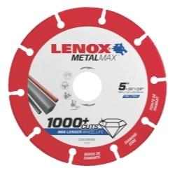"1972922 by IRWIN TOOLS - LENOX Diamond Angle Grinder Cutoff Wheel 5"" x 7/8"""
