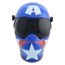 3012657 by SAVE PHACE - EFP B Series Marvel Captain America Grindin Helmet