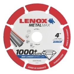 "1972919 by IRWIN TOOLS - LENOX Diamond Cutoff Wheel DG 4"" X 3/8"""
