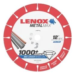 "1972927 by IRWIN TOOLS - LENOX Metal Max Diamond Cutoff Wheel CH 12"" X 1"""