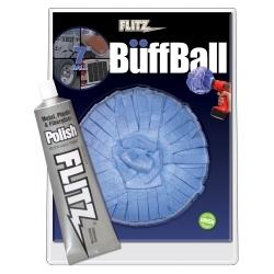 "WB201-50 by FLITZ - 7"" X-Large Buff Ball with Free Flitz Polish"