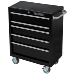 """PWS302005RCTXBK by EXTREME TOOLS - 30""""W x 20""""D Roller Cabinet, Textured Black"""