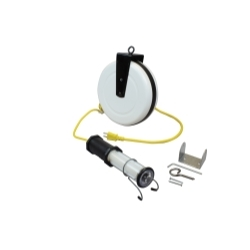 1940-8038 by GENERAL INDUSTRIAL MANUFACTURES - Stubby II® LED Light with 40' Reel