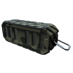 WBS-GBC by PREFERRED TOOL & EQUIPMENT/KTI - Rugged Rocker Water-Proof BT Speaker - Beach Camo