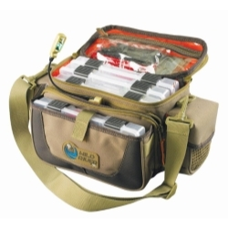 WT3505 by CUSTOM LEATHERCRAFT - Mission Lighted Tackle Bag, Small