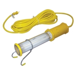 1113-2604 by GENERAL INDUSTRIAL MANUFACTURES - Stubby II® Fluorescent, 25' Cord, X-Treme Shield