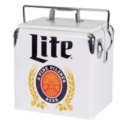 MLVIC-13 by TOTAL CHEF - 13 Liter Miller Lite Ice Chest