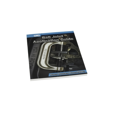 OTC Tools 6529MAN-17 Ball Joint Application Guide