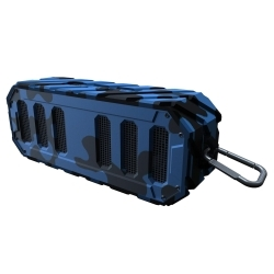 WBS-GNC by PREFERRED TOOL & EQUIPMENT/KTI - Rugged Rocker Water-Proof BT Speaker - Navy Camo
