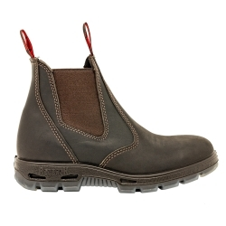 UBOK9.5 by REDBACK BOOTS USA - Boot Bonsall-Claret Brown Slip on 9.5UK