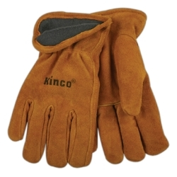 50RL-XL by KINCO INTERNATIONAL - Premium Split Cowhide Driver Glove, Thermal XL