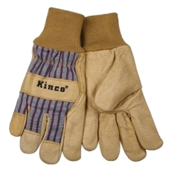 1917-L by KINCO INTERNATIONAL - Grain Pigskin Leather Palm Glove, Large