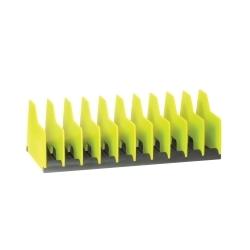 5505HV by ERNEST - HI-VIZ 10 Tool Plier Pro Organizer