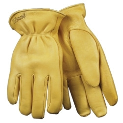 90HK-L by KINCO INTERNATIONAL - Grain Deerskin Driver Glove with Heatkeep®,  Large