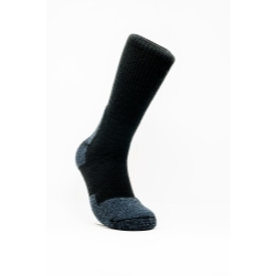 SKWBXL by REDBACK BOOTS USA - Cushion Sock 6pack Work X-Large Black Crew