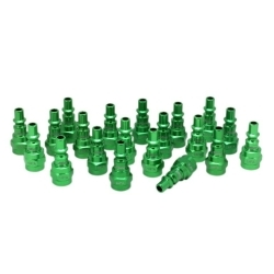 778AC-20 by MILTON INDUSTRIES - ColorFit Plugs, A-style Green, Box of 20