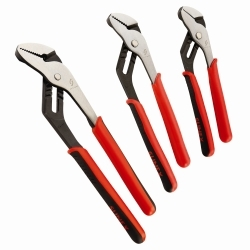 3611V by SUNEX TOOLS - 4pc Tongue and Groove Pliers Set