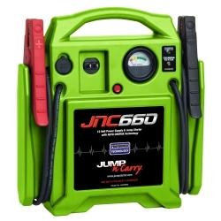 JNC660G by SOLAR - Jump Starter 1700 Peak Amp 12 Volt HI VIZ Green