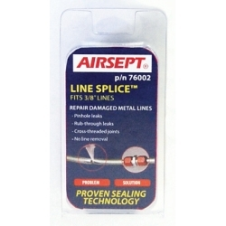 """76002 by AIRSEPT - Line Splice for 3/8"""" OD line"""