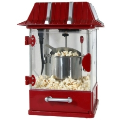 QTPOP by NEW BUFFALO CORPORATION - Table-Top Popcorn Popper, Easy to Use, Makes 5 Cups of Theater-Style Popcorn in 3 Minutes