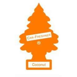 U1P-10317 by CAR FRESHENER - Little Tree Car Freshener, Coconut, One per Pack