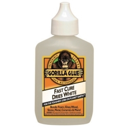 5201205-1 by GORILLA GLUE - GG 2oz Dries Whte 2X Fstr Each