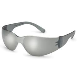468M by GATEWAY SAFETY - Safety Glasses, Starlite, Gray Frame, Silver Lenses