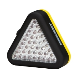 60196 by MICHIGAN IND TOOLS - Triangle Work Light, with 15 White and 24 Red LEDs, 3 Mode Operation, Magnet and Hang Hook