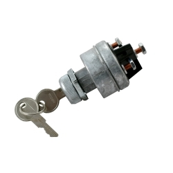 2695F by THE BEST CONNECTION - H.D. Ignition Switch w/ Keys 4 Position 1 Set