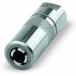 """LX-1400-2 by AIRGAS SAFETY - Grease Gun Coupler, Standard Duty, 1/8"""" NPT Threads, Spring Loaded Ball Check, 6000 Max Psi, 2 Pack"""