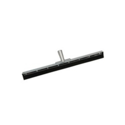 """567 by LAITNER BRUSH PRODUCTS - Floor Squeegee, 24"""" Straight Blade, Plated Steel Upper Body with Aluminum Handle Socket, Head Only"""