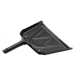 """675 by LAITNER BRUSH PRODUCTS - Black Metal Dust Pan, 9"""" Wide"""