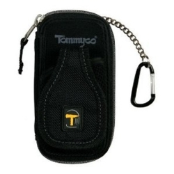 34140 by TOMMYCO - Wallet and Cell Phone Holder, Extra Wide Pocket, Security Chain with Belt Clips, Tough Nylon Weave