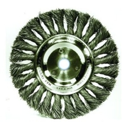 """08138 by WEILER - 8"""" KNOTTED WIRE WHEEL 3/4 ARB"""