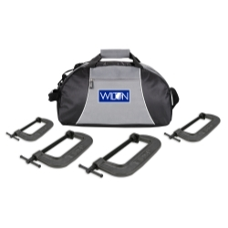 4PC540CL by WILTON - 4 Piece Wilton 540A Series C-Clamp Kit With Duffle Bag