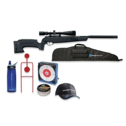 30303K by STOEGER INDUSTRIES - Tactical ATAC .177 Caliber Suppressed Air Gun Kit