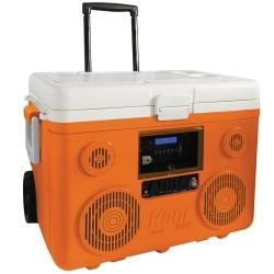 CA-E065O by PREFERRED TOOL & EQUIPMENT/KTI - KoolMax Bluetooth Cooler Audio - Orange